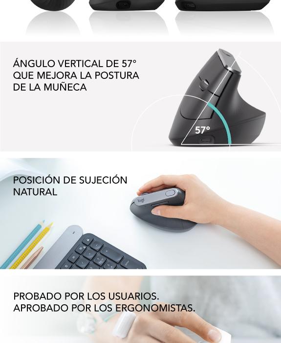 Nuevos Ratones ergonomicos de Logitech en wellcomm Tarragona